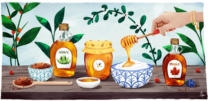 7 alternatives au sucre blanc